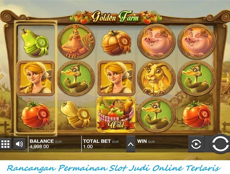 Rancangan Permainan Slot Judi Online Terlaris